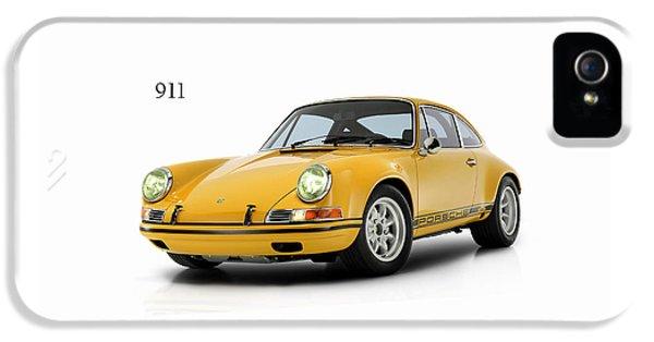Classic Porsche 911 iPhone 5 Cases - Porsche 911 ST 1970 iPhone 5 Case by Mark Rogan