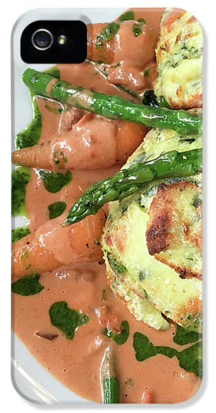 Asparagus Dish IPhone 5 / 5s Case by Tom Gowanlock