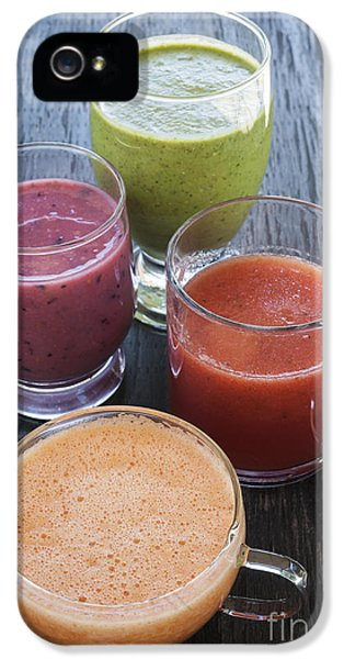 Assorted Smoothies IPhone 5 / 5s Case by Elena Elisseeva