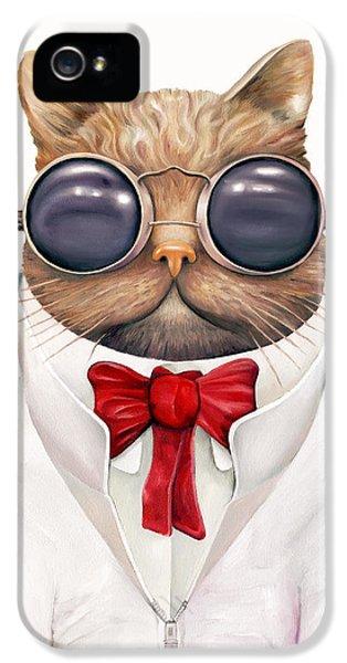 Astro Cat IPhone 5 / 5s Case by Animal Crew