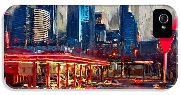 Atlanta Skyline 231 1 IPhone 5 / 5s Case by Mawra Tahreem