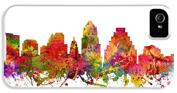 Austin Cityscape 08 IPhone 5 / 5s Case by Aged Pixel