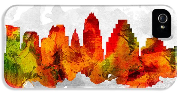 Austin Texas Cityscape 15 IPhone 5 / 5s Case by Aged Pixel