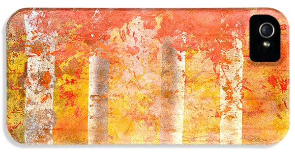 Autumn Aspens IPhone 5 / 5s Case by Brett Pfister