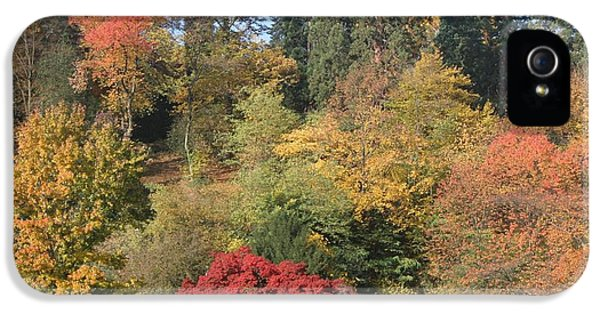IPhone 5 / 5s Case featuring the photograph Autumn In Baden Baden by Travel Pics