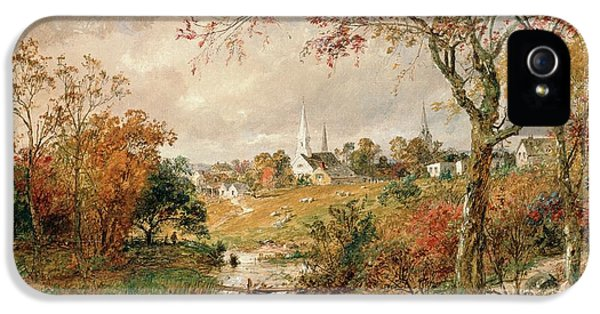 Autumn Landscape IPhone 5 / 5s Case by Jasper Francis Cropsey