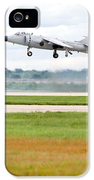 Smoke iPhone 5 Cases - AV-8 Harrier iPhone 5 Case by Sebastian Musial