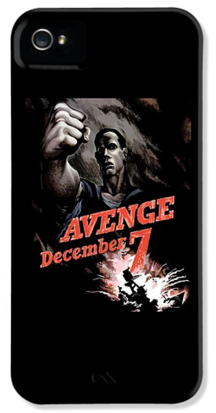 December iPhone 5 Cases - Avenge December 7th iPhone 5 Case by War Is Hell Store