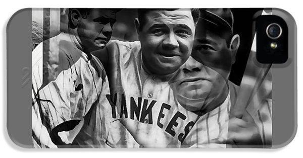 Babe Ruth Collection IPhone 5 / 5s Case by Marvin Blaine