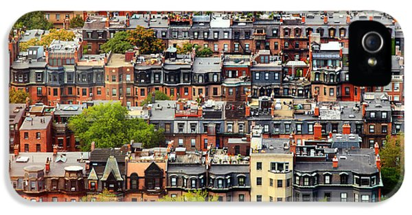 Back iPhone 5 Cases - Back Bay iPhone 5 Case by Rick Berk