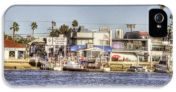 Balboa iPhone 5 Cases - Balboa Island iPhone 5 Case by Ariane Moshayedi