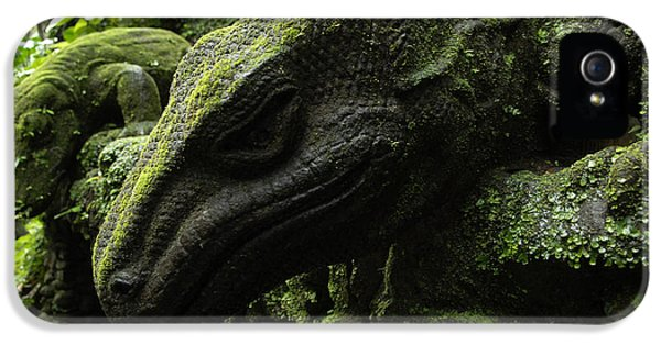 Bali Indonesia Lizard Sculpture IPhone 5 / 5s Case by Bob Christopher