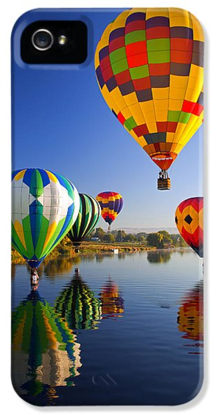 Balloon Reflections IPhone 5 / 5s Case by Mike  Dawson