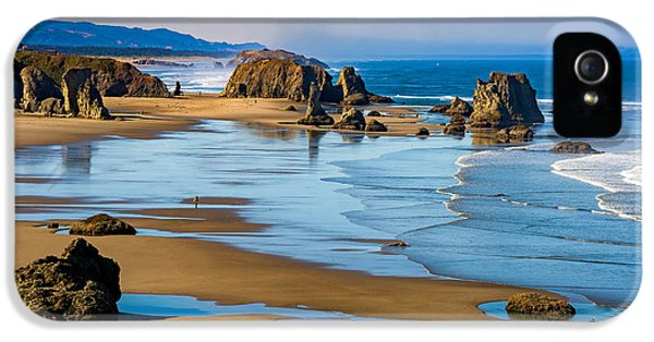 Oregon Coast iPhone 5 Cases - Bandon Beach iPhone 5 Case by Darren  White