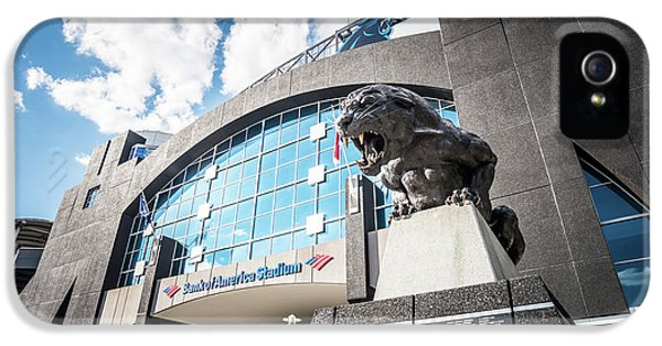 Bank Of America Stadium Carolina Panthers Photo IPhone 5 / 5s Case by Paul Velgos