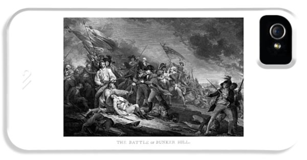 British iPhone 5 Cases - Battle of Bunker Hill iPhone 5 Case by War Is Hell Store