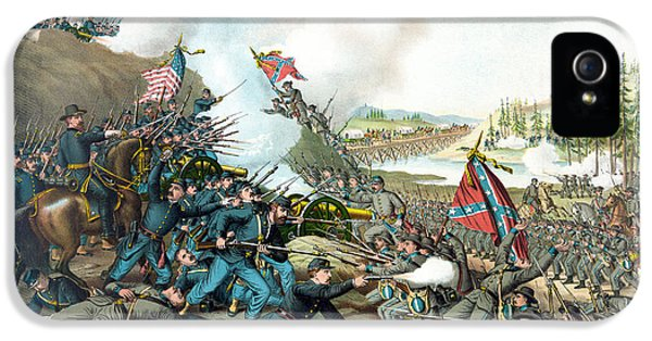 Battle Of Franklin - Civil War IPhone 5 / 5s Case by War Is Hell Store