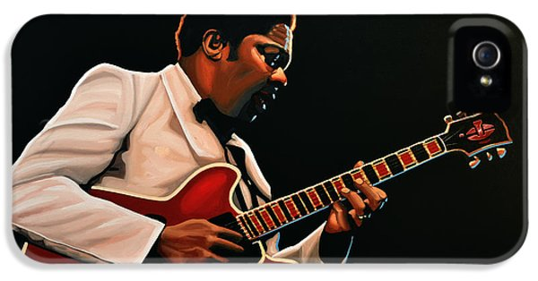 B. B. King IPhone 5 / 5s Case by Paul Meijering