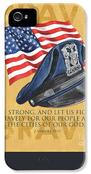 Badge iPhone 5 Cases - Be Strong iPhone 5 Case by Debbie DeWitt