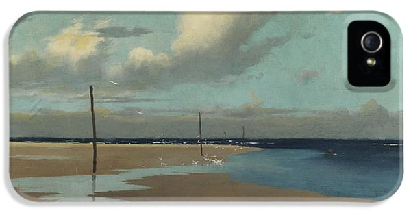 Beach At Low Tide IPhone 5 / 5s Case by Frederick Milner