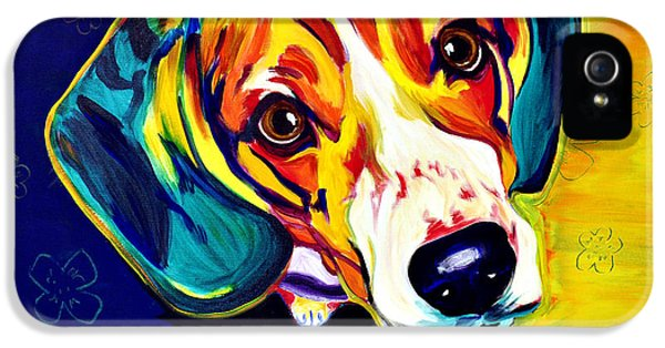 Beagle - Bailey IPhone 5 / 5s Case by Alicia VanNoy Call