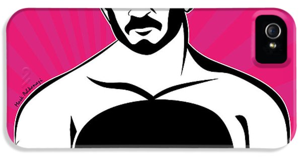 Erotic Male iPhone 5 Cases - Bear iPhone 5 Case by Mark Ashkenazi
