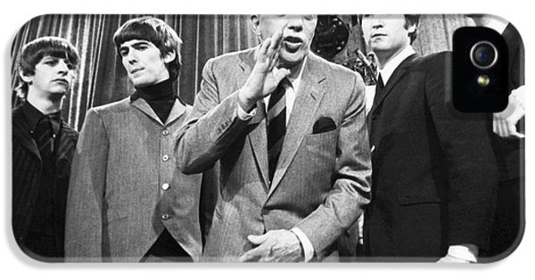 Beatles And Ed Sullivan IPhone 5 / 5s Case by Granger