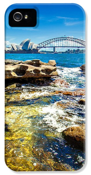 Behind The Rocks IPhone 5 / 5s Case by Az Jackson