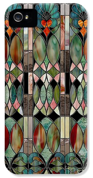 Stained iPhone 5 Cases - Belle Epoch iPhone 5 Case by Mindy Sommers