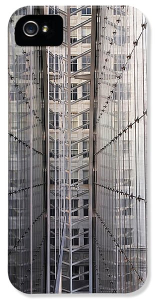 Between Glass Walls IPhone 5 / 5s Case by Rona Black