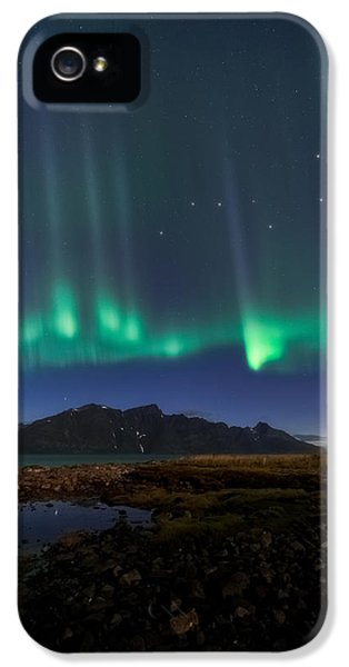 Curtain iPhone 5 Cases - Big Dipper iPhone 5 Case by Tor-Ivar Naess