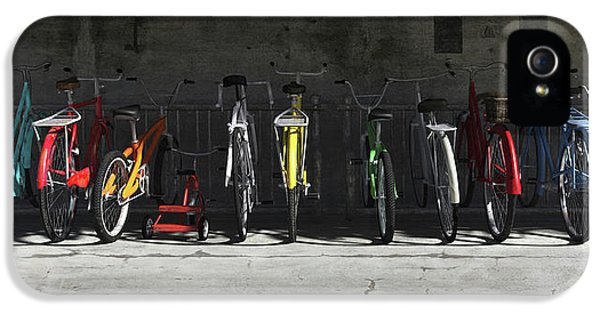 Bike Rack IPhone 5 / 5s Case by Cynthia Decker