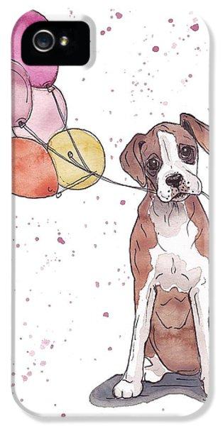 Birthday Boxer IPhone 5 / 5s Case by Katrina Davis