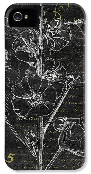 Beak iPhone 5 Cases - Black and Gold Hummingbirds 1 iPhone 5 Case by Debbie DeWitt