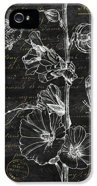 Beak iPhone 5 Cases - Black and Gold Hummingbirds 2 iPhone 5 Case by Debbie DeWitt