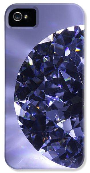 Spectrum iPhone 5 Cases - Black Diamond Shine Aura. iPhone 5 Case by Atiketta Sangasaeng