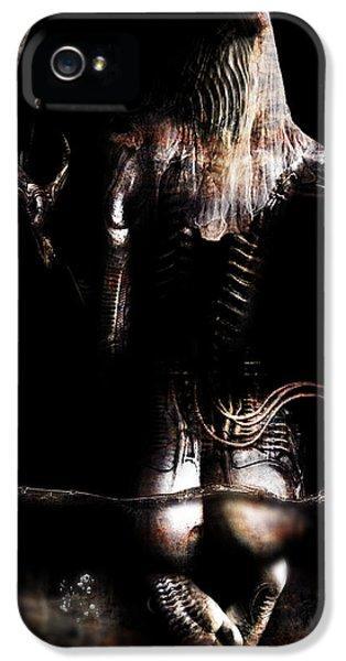 Black Tears IPhone 5 / 5s Case by Pharaoh Laboa