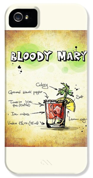 Bloody Mary IPhone 5 / 5s Case by Movie Poster Prints