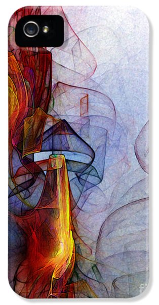 Contemplative iPhone 5 Cases - Blue Hour iPhone 5 Case by Karin Kuhlmann