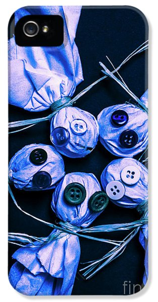 Blue Moon Halloween Scarecrows IPhone 5 / 5s Case by Jorgo Photography - Wall Art Gallery