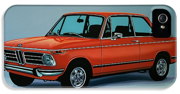 Bmw 2002 1968 Painting IPhone 5 / 5s Case by Paul Meijering