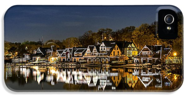 Boathouse Row IPhone 5 / 5s Case by John Greim