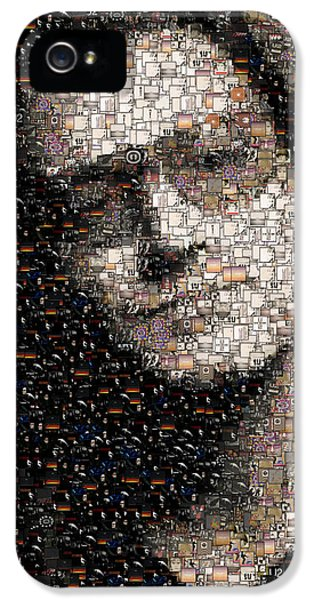Bono U2 Albums Mosaic IPhone 5 / 5s Case by Paul Van Scott