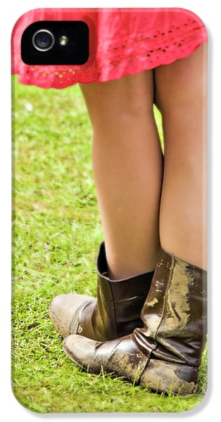 Legs iPhone 5 Cases - Boot Scootin iPhone 5 Case by Meirion Matthias
