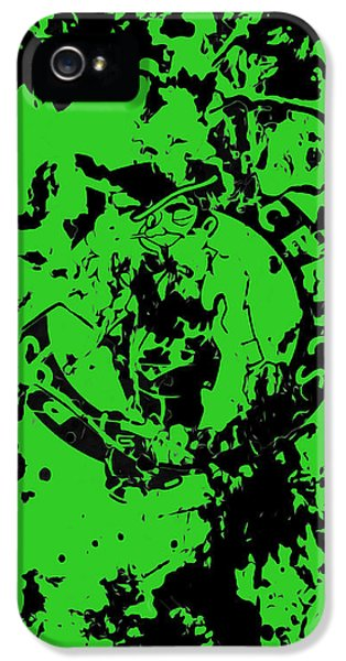 Boston Celtics 1a IPhone 5 / 5s Case by Brian Reaves