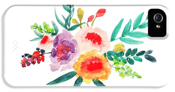 Bouquet Chic IPhone 5 / 5s Case by Rasirote Buakeeree