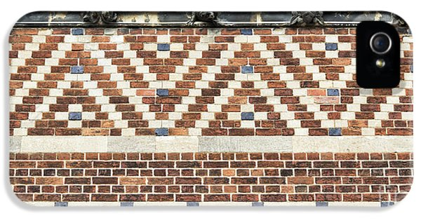 Brick iPhone 5 Cases - Brick Wall Pattern Oxford iPhone 5 Case by Tim Gainey