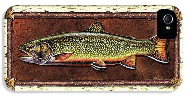 Brook Trout Lodge IPhone 5 / 5s Case by JQ Licensing