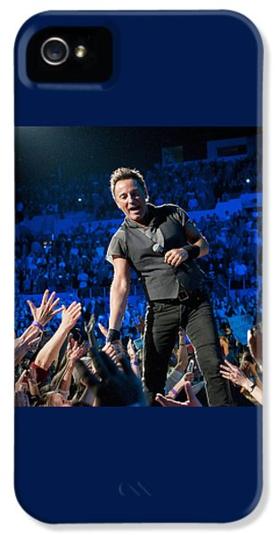 Bruce Springsteen La Sports Arena IPhone 5 / 5s Case by Jeff Ross