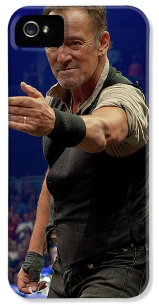 Bruce Springsteen. Pittsburgh, Sept 11, 2016 IPhone 5 / 5s Case by Jeff Ross